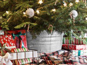 Cadeaux de Noël sous le Sapin