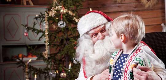 Le Père Noël et ses Histoires pour les Enfants
