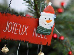 Panneau Joyeux Noël