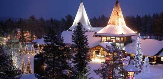 La Maison et le Village du Père Noël