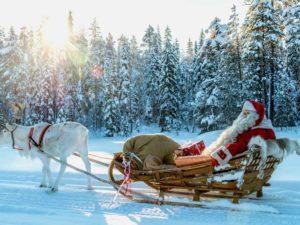 Traineau Magique du Père Noël